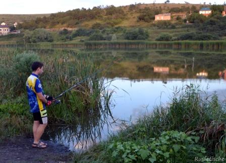 Кадыров Русфет на рыбалке